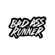 Bad Ass Runner Mini Car Magnet - Fun Size