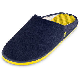 PR SOLES® Recovery Slippers (Navy/Yellow)