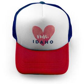 Running Trucker Hat Run Idaho