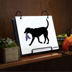 BibFOLIO® Race Bib Album - Rex the Running Dog