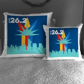 Running Decorative Pillow - NYC 26.2