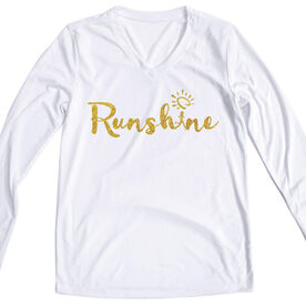 Women's Long Sleeve Tech Tee RunShine