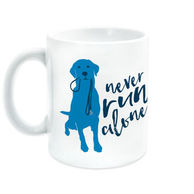 Running Coffee Mug Never Run Alone