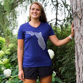 Women's Running Short Sleeve Tech Tee Florida State Runner