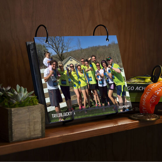BibFOLIO® Race Bib Album - Custom Photo Full Coverage