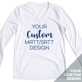 Women's Running Long Sleeve Tech Tee - Your Custom MRTT/SRTT Design