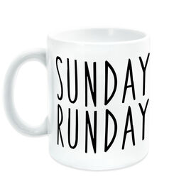 Running Coffee Mug - Sunday Runday