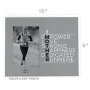 Running Photo Frame - Mother Runner