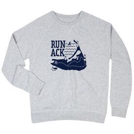 Running Raglan Crew Neck Sweatshirt - Run ACK