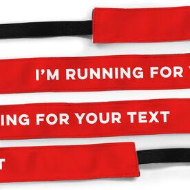 Running Julibands No-Slip Headbands - I'm Running for...