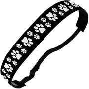 Athletic Julibands No-Slip Headbands - Paw Prints