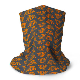 Running Multifunctional Headwear - Gone For a Run Orange Logo RokBAND