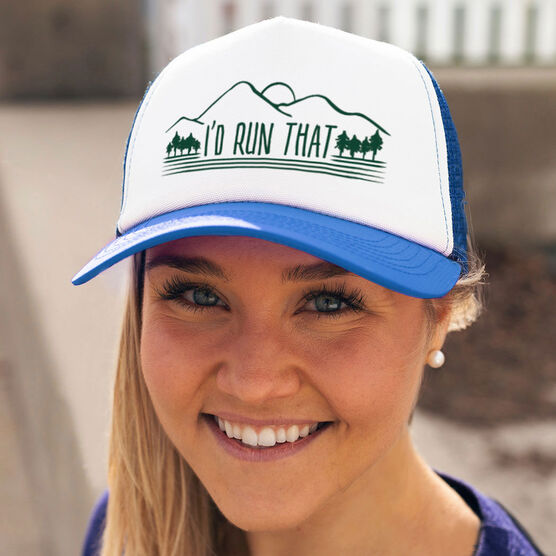 Running Trucker Hat - I'd Run That