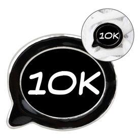 Running Shoelace Charm - 10K