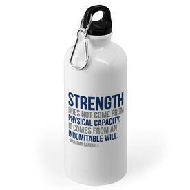 Running 20 oz. Stainless Steel Water Bottle - Strength