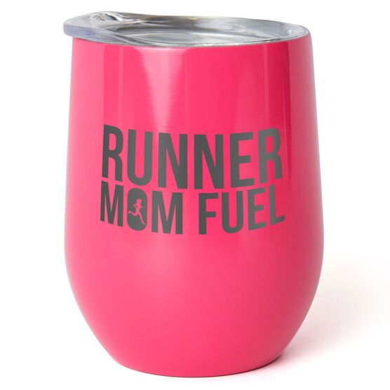 Running Stainless Steel Wine Tumbler - Runner Mom Fuel