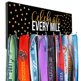 Running Hooked on Medals Hanger - Celebrate Every Mile