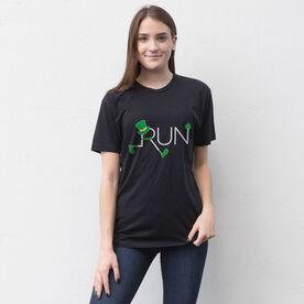 Running Short Sleeve T-Shirt - Let's Run Lucky