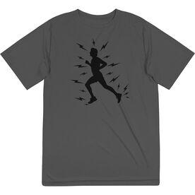 Men's Running Short Sleeve Tech Tee - Lightning Runner