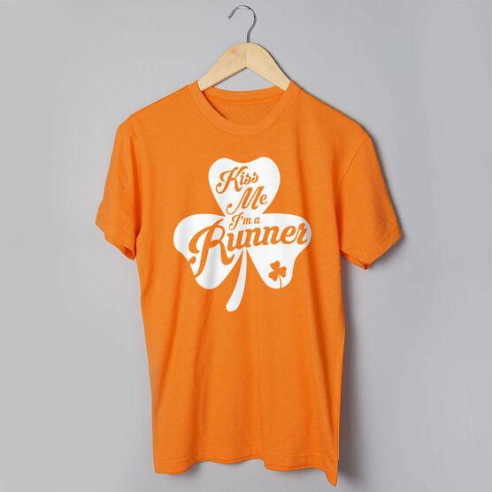 Running Short Sleeve T-Shirt - Kiss A Lucky Runner