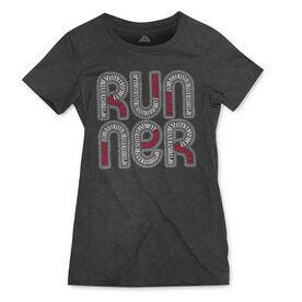 Women's Everyday Runners Tee Sagittarius Zodiac Runner