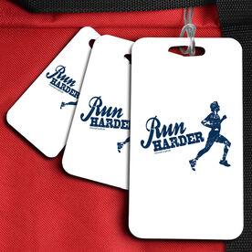 Run Harder Sport Bag/Luggage Tag