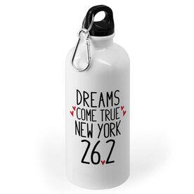 Running 20 oz. Stainless Steel Water Bottle - Custom Dreams Come True 26.2