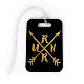 Running Bag/Luggage Tag - RUNR Crossed Arrows