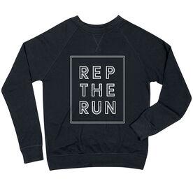 Running Raglan Crew Neck Sweatshirt - Rep The Run