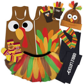 Goofy Turkey Running Outfit