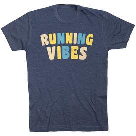 Running Short Sleeve T-Shirt - Running Vibes (Neutral)