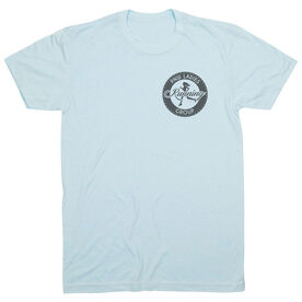 Vintage Running T-Shirt - Pacific Northwest Ladies Running Group Logo (Black)