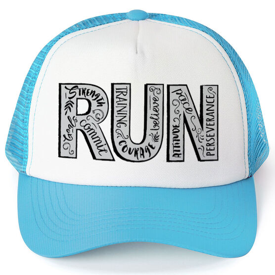 Running Trucker Hat - Run With Inspiration