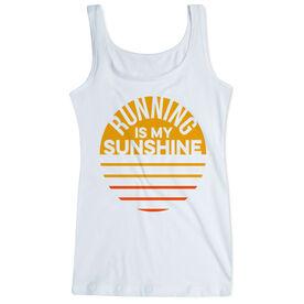 cc774c4184b88c Running Women s Athletic Tank Top - Running is My Sunshine