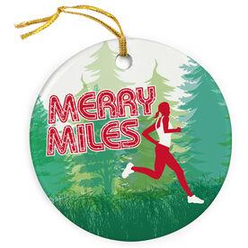 Running Porcelain Ornament Merry Miles Female - SS