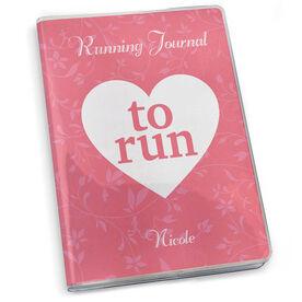 GoneForaRun Running Journal - Heart To Run