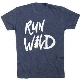 Running Short Sleeve T-Shirt - Run Wild Sketch