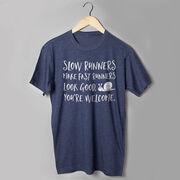 Running Short Sleeve T-Shirt - Slow Runners