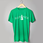 Running Short Sleeve T-Shirt - Runner Tree