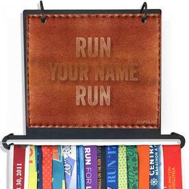 BibFOLIO Plus Race Bib and Medal Display - Run Your Name Run Executive