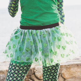 Runners Tutu - Glitter Shamrock