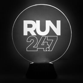 Running Acrylic LED Lamp Run 24.7