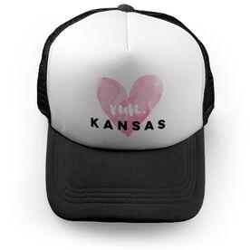Running Trucker Hat Run Kansas