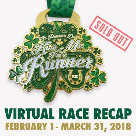 Virtual Race - Kiss Me I'm a Runner 5K  (2018)