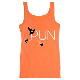 Running Women's Athletic Tank Top - Let's Run For Halloween