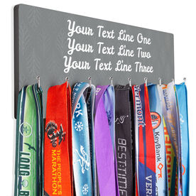 Running Hooked on Medals Hanger - Customize Me Quote Script