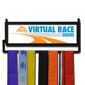 RunnersWALL Virtual Race Series Logo Medal Display