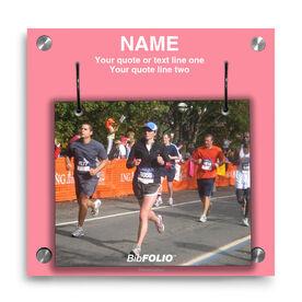 Personalized Custom Photo Wall BibFOLIO® Display