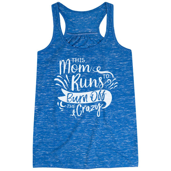 Flowy Racerback Tank Top - This Mom Runs to Burn Off the Crazy