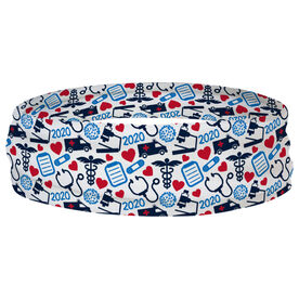 Running Multifunctional Headwear - Healthcare Heroes Pattern RokBAND